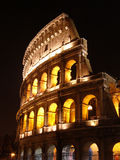 Colloseum. Rome Colloseum by night - scene Royalty Free Stock Photo