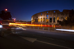The Colloseum at dusk Royalty Free Stock Images