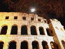Colloseum by night Stock Photo