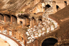 Colloseum old stairs details Stock Photography
