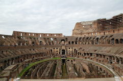 Colloseum Rome. Interior of Colloseum at Rome Italy Stock Image