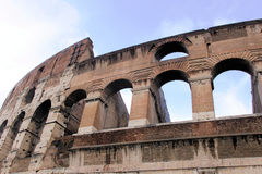 Colloseum, Rome. Ruins of the colloseum in Rome, Italy Royalty Free Stock Images