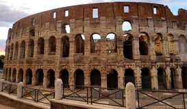Colloseum in Rome. During early afternoon Royalty Free Stock Images