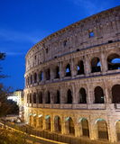 Colloseum in Rome. During evening Stock Image