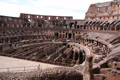 The Colloseum in Rome, Italy Stock Image