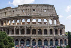 The colloseum in Rome, Italy Royalty Free Stock Images