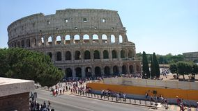 Colloseum. The colloseum in Rome, from the outside Stock Images