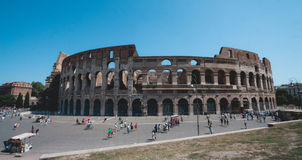 Colloseum of Rome. Travel to Colloseum of Rome, Italy Royalty Free Stock Photos