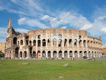 Colloseum. Ruins of the colloseum in Rome, Italy Stock Images