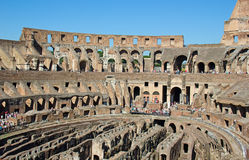 Colloseum. Ruins of the colloseum in Rome, Italy Royalty Free Stock Photo