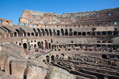 Colloseum. Ruins of the colloseum in Rome, Italy Stock Photography