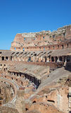 Colloseum. Ruins of the colloseum in Rome, Italy Royalty Free Stock Photography