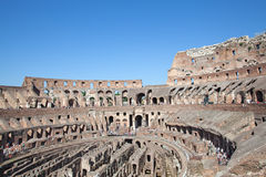Colloseum. Ruins of the colloseum in Rome, Italy Royalty Free Stock Images