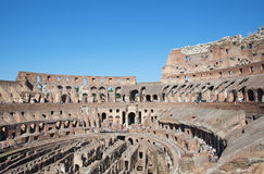Colloseum. Ruins of the colloseum in Rome, Italy Royalty Free Stock Image