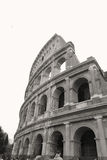Colloseum. This is a small piece of the colossal Flavian Amphitheatre, also known as the Colloseum Stock Photo