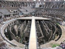 The Collosseum inside Royalty Free Stock Photo