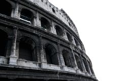 Collosseum isolado Foto de Stock