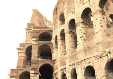 Collosseum isolated Royalty Free Stock Photos