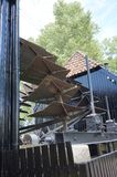 Collse Watermolen water wheels Royalty Free Stock Photography