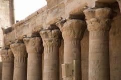 Collums de la ayuda del templo Fotos de archivo