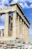 Collums dell'acropoli Immagine Stock