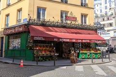 Colmado francés Imagen de archivo