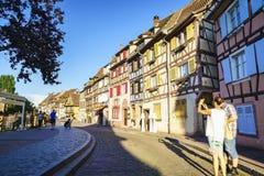 Colmar, Αλσατία, Γαλλία Στοκ Φωτογραφία