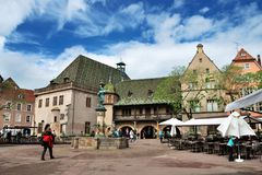 Colmar (Alsácia) Fotografia de Stock Royalty Free