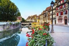 Colmar, Alsácia, França fotos de stock