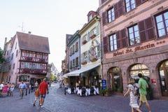 Colmar, Alsácia, França Imagens de Stock Royalty Free