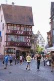 Colmar, Alsácia, França fotos de stock royalty free