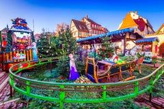 Colmar, Alsácia, França - pequeno Venise fotos de stock royalty free