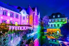 Colmar, Alsácia, França - pouca Veneza imagem de stock