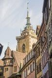 Colmar (Alsace) - Belfry Stock Image