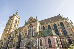 Colmar (Alsace) - Church Stock Photography