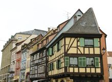 Colmar in the Alsace in France Stock Image