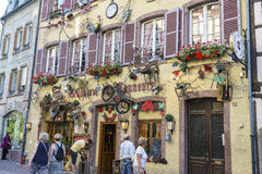 Colmar, Alsace, France - House Stock Images