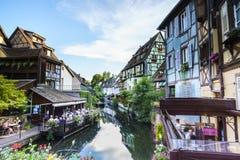 Colmar, Alsace, France. Very high resolution, 42.2 megapixels Stock Images