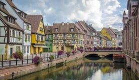 Colmar Alsace, Frankrike arkivbild