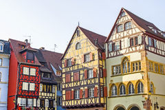Colmar (Alsace) - Houses Royalty Free Stock Photography