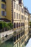 Colmar (Alsace) - petit Venise Image libre de droits