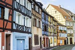 Colmar (Alsace) - Petite Venise Stock Photo