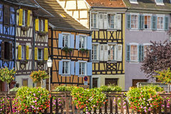 Colmar (Alsace) - Petite Venise Stock Photos