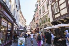 Colmar, Alsacia, Francia Fotos de archivo
