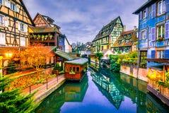 Colmar, Alsacia, Francia - poca Venecia fotos de archivo libres de regalías