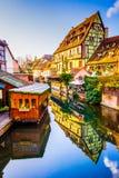 Colmar, Alsacia, Francia - poca Venecia imágenes de archivo libres de regalías