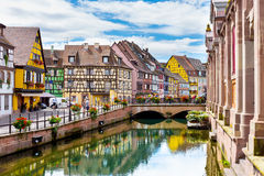 Free Colmar Architecture And Flower Decoration Royalty Free Stock Image - 78195956