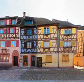 Colmar, beautiful town of Alsace, France Stock Images