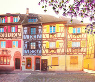 Colmar, beautiful town of Alsace, France Royalty Free Stock Photo