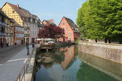 Colmar canal Royalty Free Stock Photo